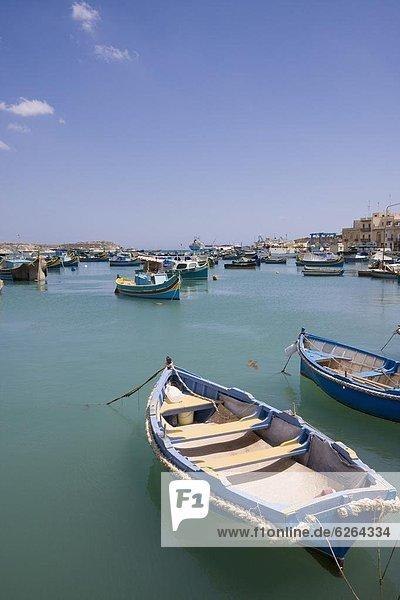 Europa Malta Marsaxlokk
