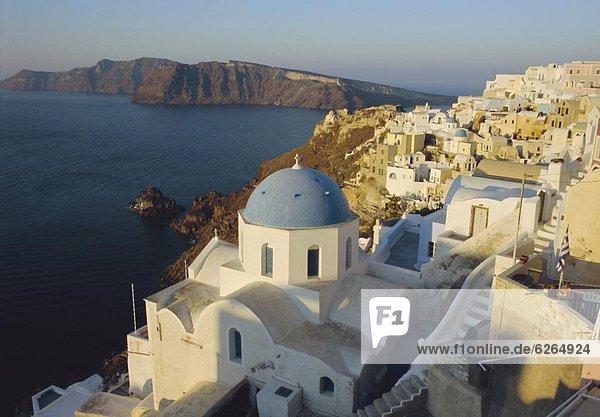 Europa Santorin Kykladen Griechenland