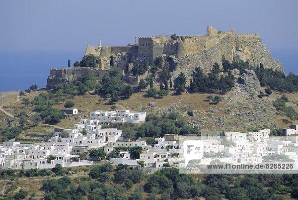 Dodekanes Akropolis Lindos Rhodos