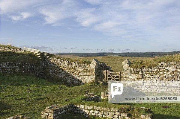 Europa  Großbritannien  UNESCO-Welterbe  England  Northumberland