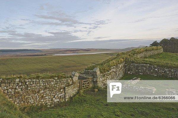 Europa  sehen  Großbritannien  UNESCO-Welterbe  England  Northumberland
