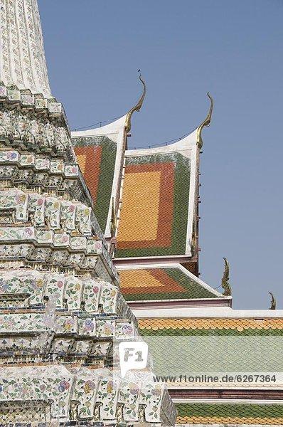Wat Arun (Tempel der Morgenröte)  Bangkok  Thailand  Südostasien  Asien