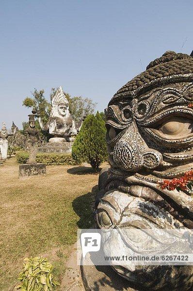 Vientiane  Hauptstadt  Südostasien  Asien  Laos