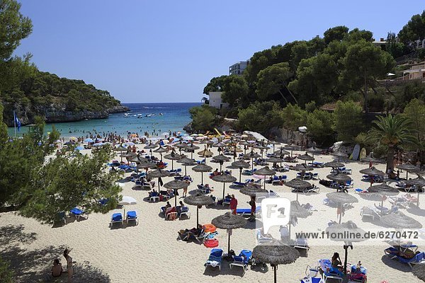 Cala Santanyi  Mallorca (Majorca)  Balearic Islands  Spain  Mediterranean  Europe