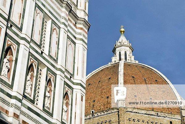 Europa  Kathedrale  UNESCO-Welterbe  Florenz  Italien  Toskana