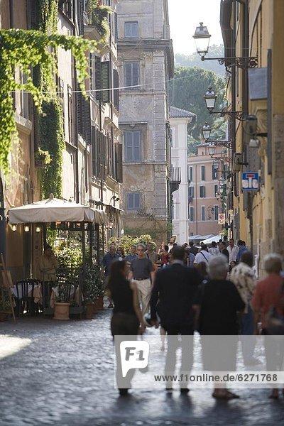 Rom Hauptstadt Europa Latium Italien Trastevere