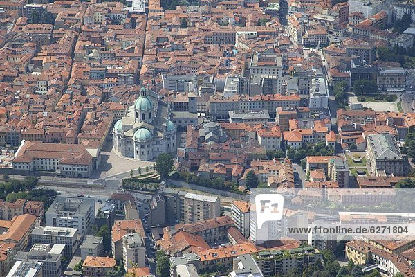 Europa  Stadt  Ansicht  Comer See  Como  Italien  Lombardei