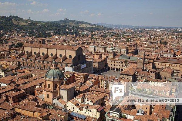 Europa  Ansicht  2  Platz  Emilia-Romangna  Bologna  Italien