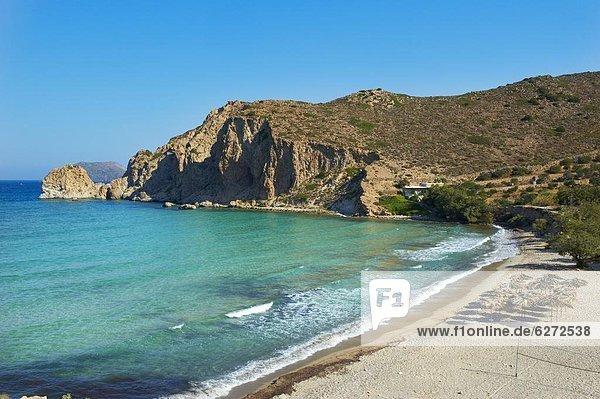 Europa Kykladen Ägäisches Meer Ägäis Griechenland Griechische Inseln Milos