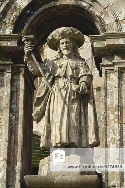Europa  UNESCO-Welterbe  Galicien  Santiago de Compostela  Spanien