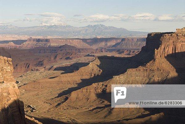 Shafer Canyon Overlook  Canyonlands National Park  Utah  Vereinigte Staaten von Amerika  Nordamerika