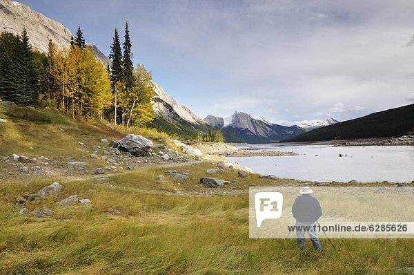 Nordamerika  Rocky Mountains  Jasper Nationalpark  UNESCO-Welterbe  Alberta  Kanada