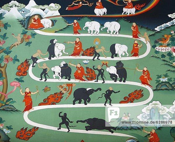 Kathmandu  Hauptstadt  weiß  Elefant  Geschichte  Asien  Kloster  Nepal Kathmandu, Hauptstadt ,weiß ,Elefant ,Geschichte ,Asien ,Kloster ,Nepal