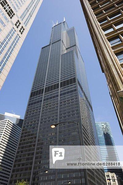 Sears Tower  Chicago  Illinois  Vereinigte Staaten von Amerika  Nordamerika