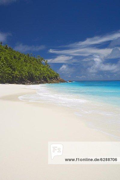 Afrika  Indischer Ozean  Indik  Sandstrand  Seychellen