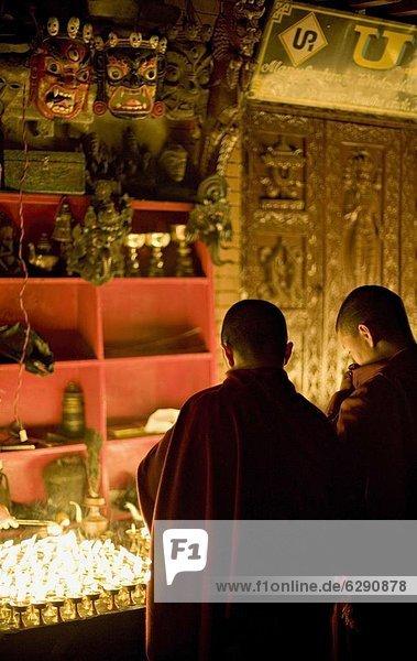 Nacht Beleuchtung Licht Lampe Mönch Butter