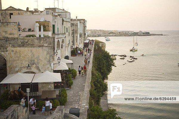 Europa  Altstadt  Apulien  Italien  Otranto