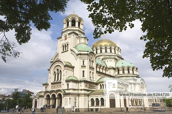 Sofia  Hauptstadt  Europa  Bulgarien