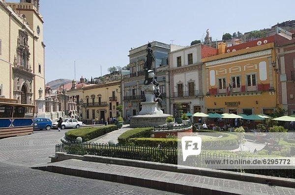 Stadtplatz Nordamerika Mexiko Guanajuato