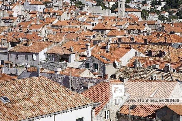 Europa Kroatien Dubrovnik