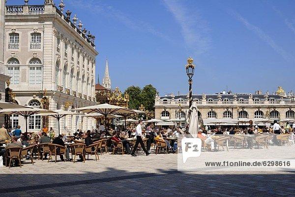 Frankreich  Europa  Restaurant  UNESCO-Welterbe  Lothringen  Nancy