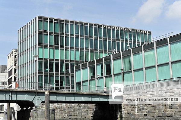 Verwaltungsgebäude  HAMBURG SÜD  die Hamburg Südamerikanische Dampfschiffahrts-Gesellschaft HSDG  Hansestadt Hamburg  Deutschland  Europa