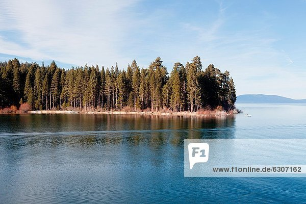 Siedlung  Schönheit  Landschaftlich schön  landschaftlich reizvoll  Lake Tahoe  1  Bucht  Smaragd
