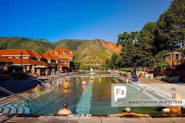 Therapy Pool  Glenwood Hote Springs  Glenwood Springs  Colorado USA