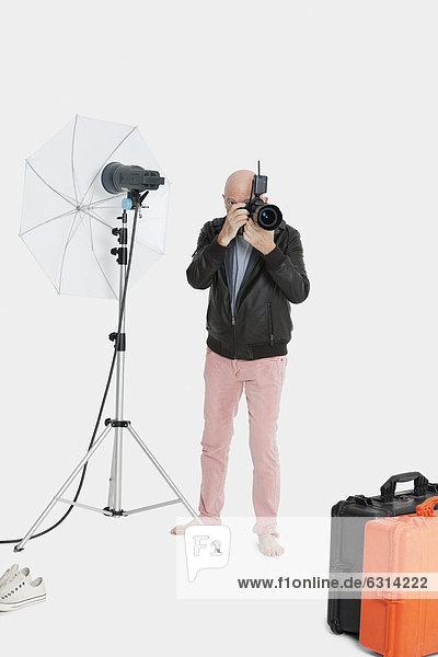 Senior  Senioren  Fotografie  nehmen  Fotograf  Studioaufnahme