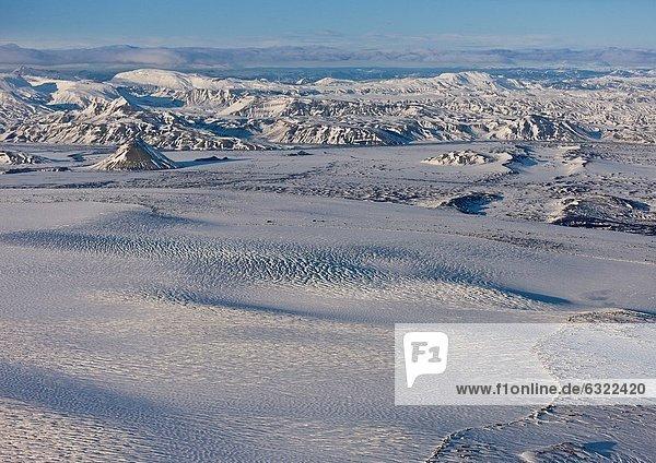 Vulkanausbruch  Ausbruch  Eruption  Vulkan  Erwartung  Bildschirm  Island  Mýrdalsjökull