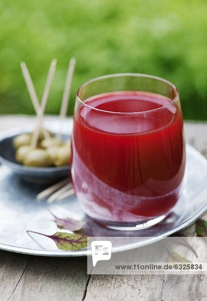 Rote Bete-Apfel-Gurken Saft