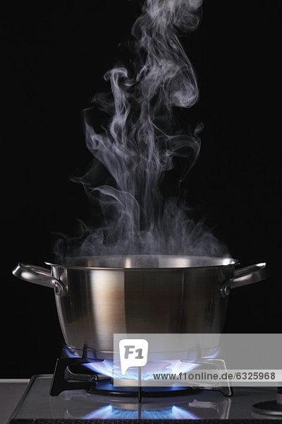 kochen  Rauch  Kochtopf  Umweltverschmutzung