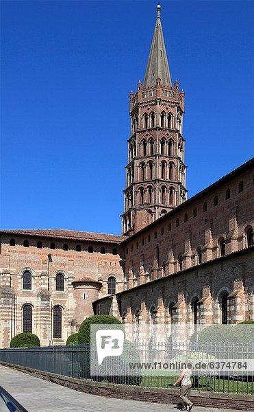 France  Midi-Pyrénées  Toulouse  Basilique St-Sernin  basilica