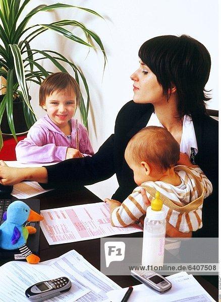 Mutter und Beruf