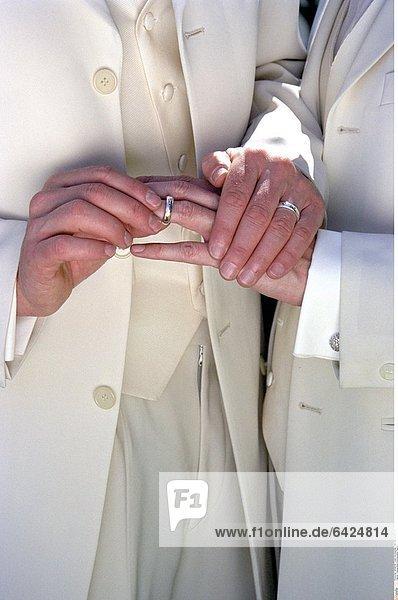 Trauung eines homosexuellen Paares