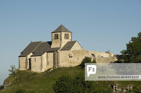 Kirche von Dauzat-sur-Vodable  Puy-de-DÙme  Auvergne  Frankreich  Europa