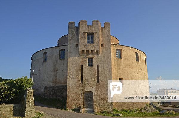 Festung von Saint-Floret  La Citadelle  Cap Corse  Korsika  Frankreich  Europa