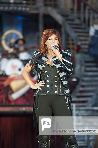 7. Andrea Open Air concert in Aspach  Baden-Wuerttemberg  Germany  Europe