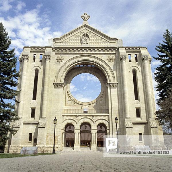 Saint Boniface Kathedrale  Winnipeg  Manitoba  Kanada Saint Boniface Kathedrale, Winnipeg, Manitoba, Kanada