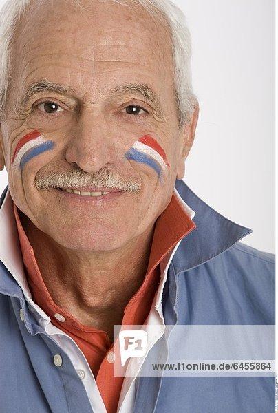 Französischer Fußballfan