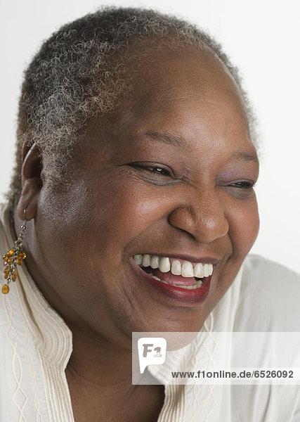 Senior Lächelnde Frau
