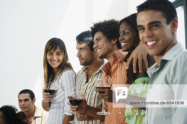Freundschaft  Party  Südamerika