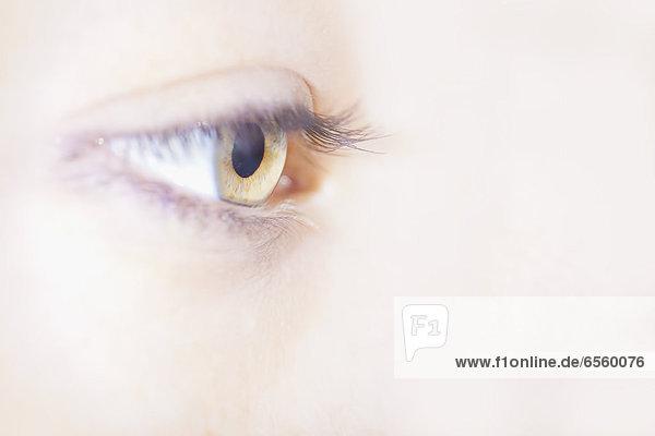 Menschliches Auge  Nahaufnahme