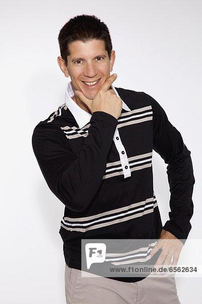 Personal Trainer in Freizeitkleidung  Portrait