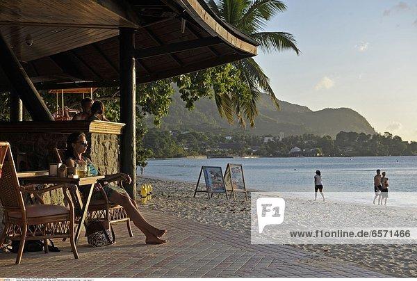 Seychellen  Seychelles  Indischer Ozean  Indian Ocean  Insel Mahe  Beau Vallon Tourist Area *** Local Caption ***