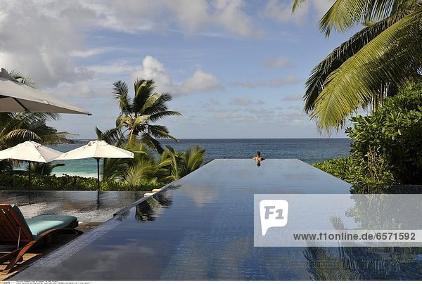 Seychellen  Seychelles  Indischer Ozean  Indian Ocean  Insel Mahe  Hotel Banyan Tree *** Local Caption ***