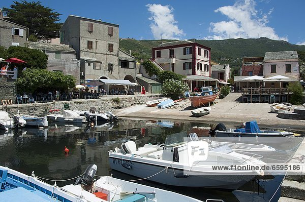 Hafen  Centuri Port  Cap Corse  Korsika  Frankreich / Westkueste *** Local Caption ***
