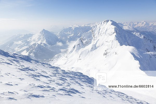 Ennstaler Alpen im Winter  Oberösterreich  Österreich