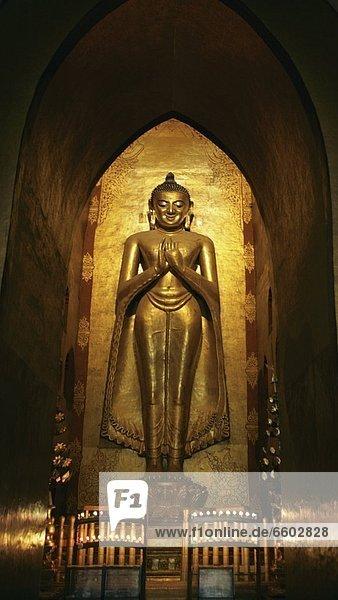 Golden Statue Of Buddha.