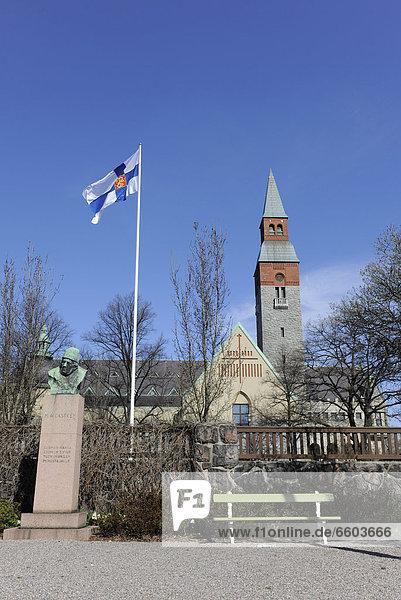 Nationalmuseum in Helsinki  Finnland  Europa